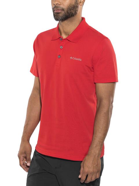 Columbia Elm Creek - Camiseta manga corta Hombre - rojo